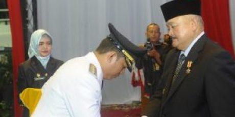 Gubernur Resmi Lantik Teddy Meilwansyah Jadi Penjabat Bupati Muara Enim
