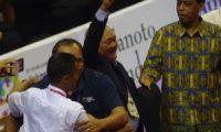 Gubernur Saksikan Final Sepak Takraw, Indonesia Raih Medali Emas