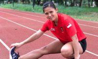 Sri Maya Sari  Wakili Indonesia di Ajang Kejuaraan Atletik Singapura