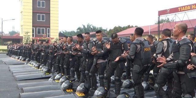 Pasukan Power Hand Kapolda Siap Tampil Kapanpun