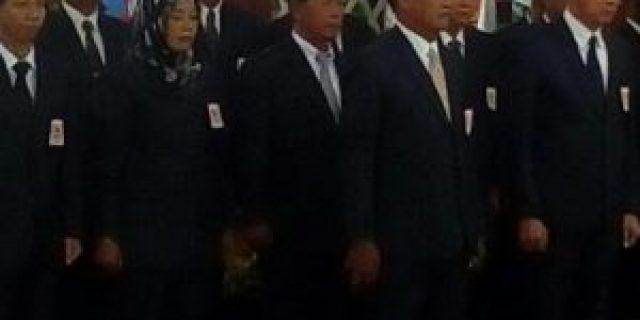 Pengkuhan dan pelantikan pengurus Koni Musi Banyuasin