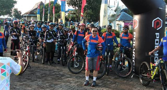 Biker Meriah Fun Bike HUT Polairud Ke 68 Tahun 2018