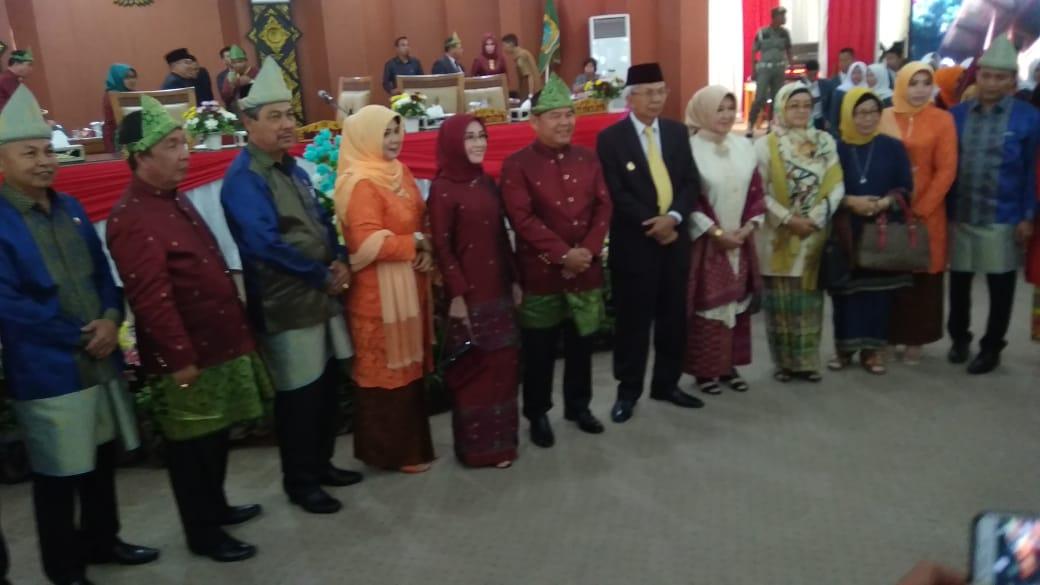 Paripurna Dalam Rangka HUT Kabupaten OI Berjalan Lancar