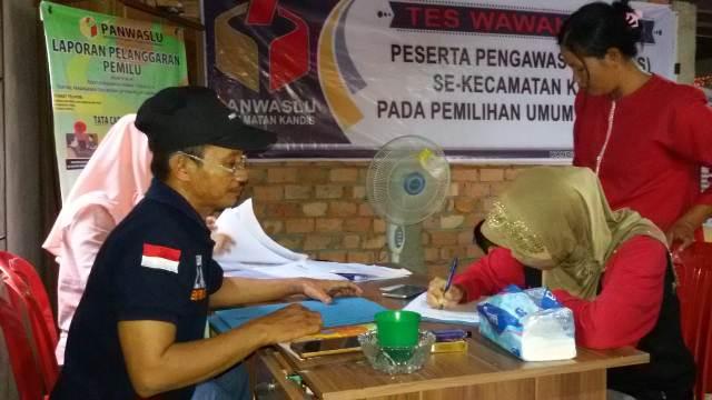 PANWASCAM KANDIS MEREKRUT PENGAWAS TPS PEMILU 2019
