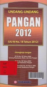 Urgensi Kedaulatan Pangan Melalui Revisi UU No. 18 Tahun 2012