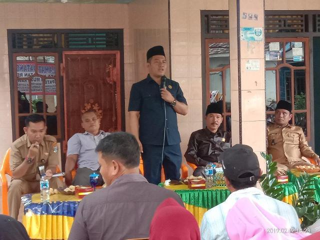 Ketua DPRD Muratara Efriyansyah, Prioritas Aspirasi Kebutuhan Masyarakat