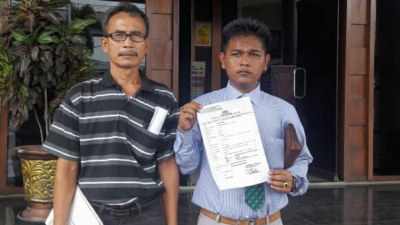 Meminta – Menerima Penambahan DP, Manager Balido Dilaporkan