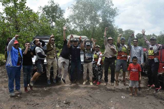 Danlanud SMH Offroad Bareng Bersama Dankodiklat TNI AD