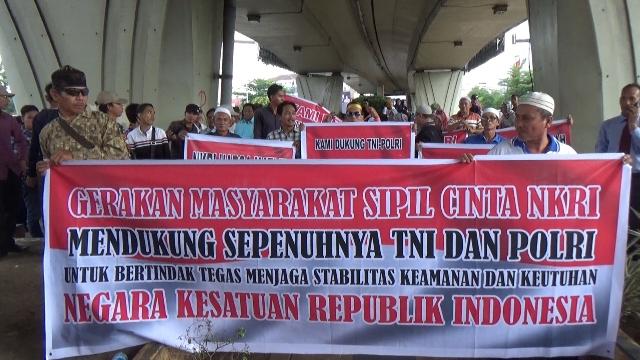 GMSC NKRI Dukung TNI Polri Jaga Stabilitas Keamanan NKRI Pasca Pemilu