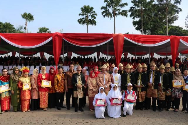 Danlanud SMH Hadiri Hari Jadi Kota Palembang ke-1336