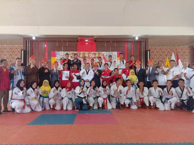 Kunjungan Korea Disabilitas Taekwondo Association di OI