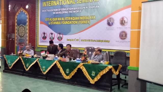 Ponpes Al Ittifaqiah Gelar Seminar Setara Internasional