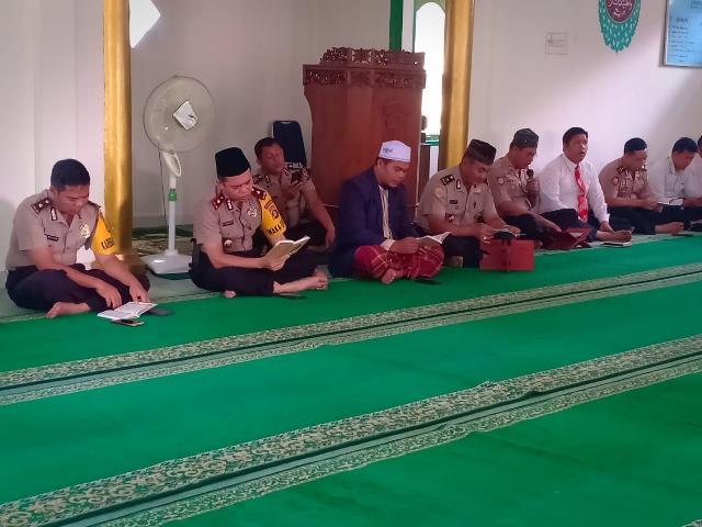 Polres Banyuasin Gelar Doa Bersama