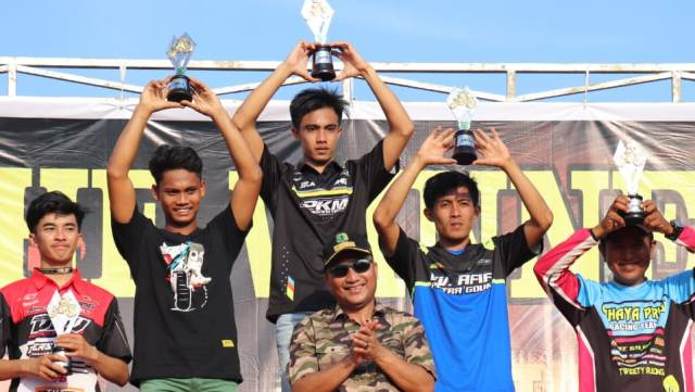 Kejurda Grasstrack DRA Cup Sukses dan Meriah