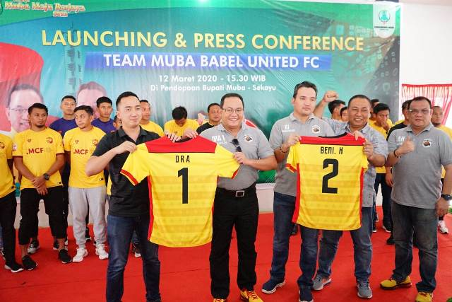 Launching Tim, Dodi Ingin Muba Babel United Lebih Modern