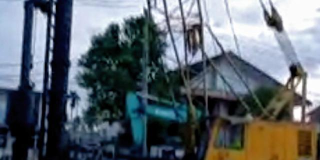 Getaran Proyek Jembatan Musi VI, Retakan Rumah Warga