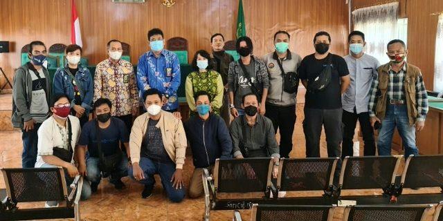 Ketua PN Palembang Gelar Tatap Muka Dengan Wartawan