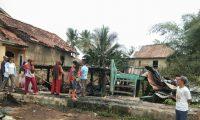 Rumah Panggung Kayu Ludes Terbakar