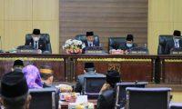DPRD Sampaikan Laporan Pansus Atas LKPJ Bupati