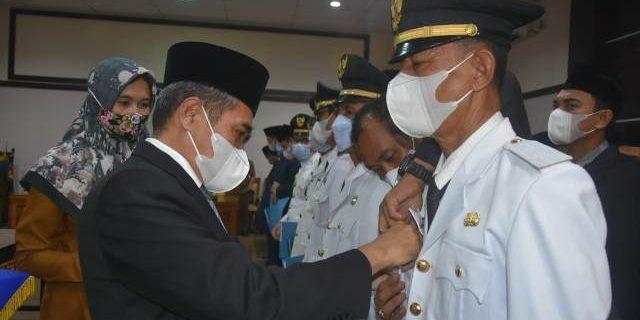 Wabub Lantik 54 Pejabat di Lingkup Pemkab Ogan Ilir