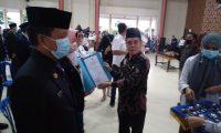 155 Penjabat di Lingkungan Pemkab OI di Ambil Sumpah