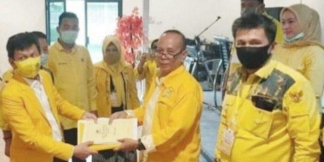 Suharto Resmi Jabat Ketua DPD Golkar Ogan Ilir