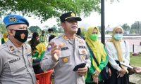 Jemput Bola Vaksin Warga, Polres Sinergi Bareng Dinkes