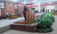 Paripurna VI DPRD Ogan Ilir Mendengar Pidato Bupati