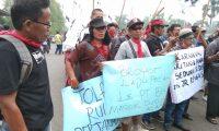 Petani dan Walhi Peringati Hari Tani Demo Di DPRD Sumsel
